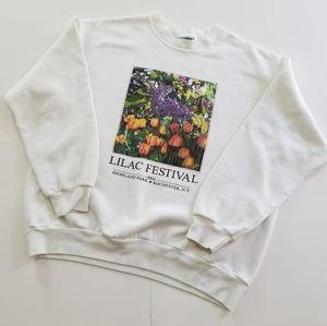 Early Y2K | Lilac Festival Rochester NY Crewneck